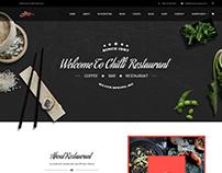 Chilli - Event Coffee & Restaurant WordPress Theme