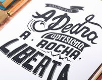 Lettering Manto