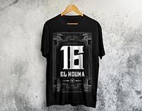 Alger 16 El Houma tee shirt