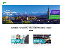 Website für World Pancreas Forum in Bern
