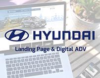 Hyundai Motors Italia - Landing Page & Digital ADV