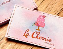 La Chérie logo design
