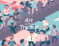 Art Within Transit | Adding Art into MRT