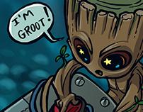 Baby Groot Fanart