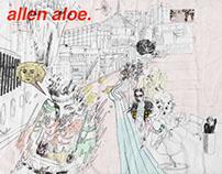 ALLEN ALOE (Tape Cover), 2016
