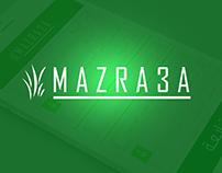 MAZRA#A app UI/UX