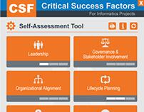 Critical Success Factors for Informatics Projects