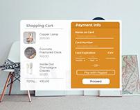 Copper Credit Card Modal