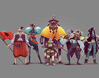 Team of Characters