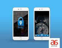 App UI Design | Take Secure Pics