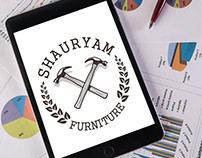 Shauryam Furniture Logo Design
