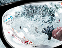 Ópticos Devlyn Insurance Print Campaign