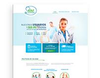 Web site - ABE enfermería