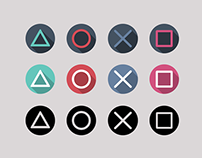 Playstation icons (free download)