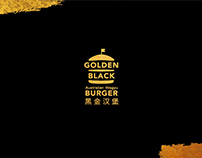 Golden Black Burger
