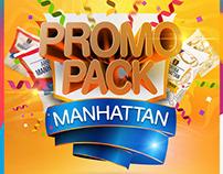 Diseño de Flyer Promo Pack