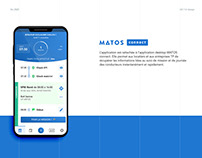 MATOS connect - Application mobile UX/UI