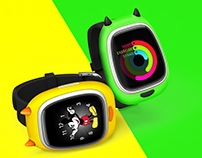 Little mOnster Kids Smart Watch Concept