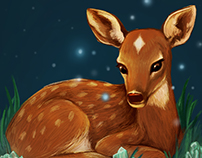 Fawn -  Animated Illustration