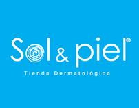 Sol y Piel: Diseño de marca y línea gráfica.