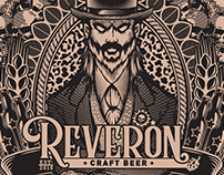 Reverón Craft Beer Label
