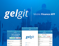 Gelgit Mobile Finance App