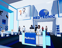 MEDTRONIC — Trade Show Booth