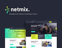 Netmix | Broadband & Telecom WordPress Theme