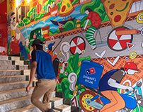 Murals for Domino's Pizza