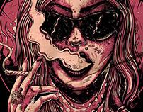 Merch Diablo Angel - PE Ilustração por: Kin Noise