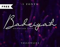 FREE | Badriyah Script