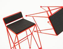 Thorn bar stool