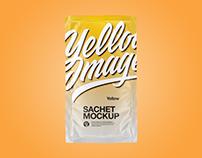 Sachets Mockups PSD 5k