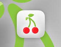 Cherry Icon Design