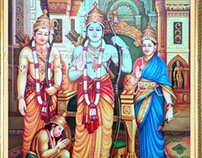 PAINTING OF LORD RAM