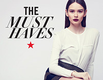 Macy's — The Must Haves Fashion Signage