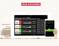 BAE SYSTEMS - Tank Commander Dashboard UI
