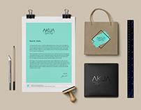 Identidad Corporativa AKUA Digital Design