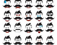 Emoji Design With My Mustache....
