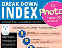 "Info Graphics ""Break Down Index"""