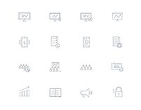 Prezi icon set for Web & Marketing