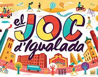 """""""El joc d'Igualada"""" – Board game"""
