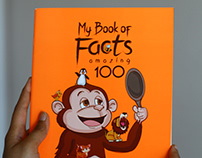 My Book Of Facts - Illustration Process - Pen to Press