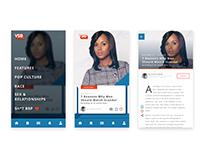 Very Smart Brothas Blog App Design