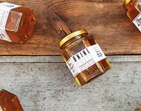 B.NINE Honey Branding