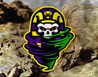 Tornado mascot concept