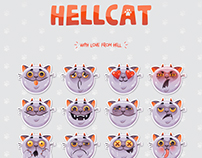 Hellcat sticker pack