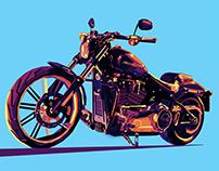 Bike wpap art