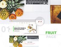 Fruit & Vegetables internet shop