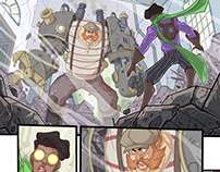 """""""Steam Orleans"""" Comics Project"""